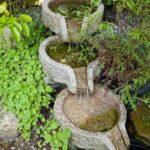 Cascada in trepte pentru gradina