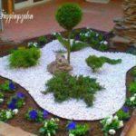 Decoratiune din pietre pentru gradina
