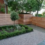 Gard simplu din lemn