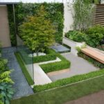 Gradina cu terasa moderna