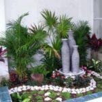 Mica gradina cu plante decorative