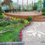 Model decorare gradina din pietre