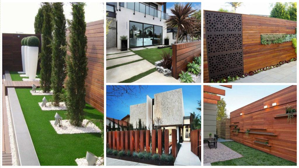 Garduri din lemn deosebite pe care trebuie sa le vezi for Modele de garduri pentru case