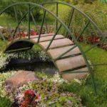 Pod mic pentru iaz de gradina