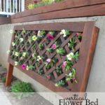 Suport de flori din tablie de pat