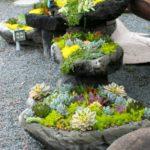 Suporturi de flori din pietre