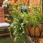 Cosuri cu flori din fier