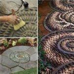 Crearea mozaicurilor pentru alei