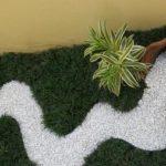 Decor gradina cu plante artificiale