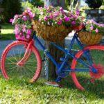 Decoratiune cu cosuri de flori