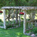 Decoratiuni gradina din lemn