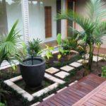 Decor gradina mica cu plante decorative