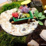 Gradina in miniatura cu decoratiuni