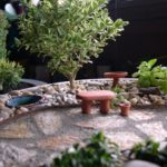 Gradina in miniatura din piatra
