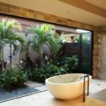 Gradina interioara in baie