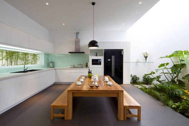 Gradina interioara in bucatarie