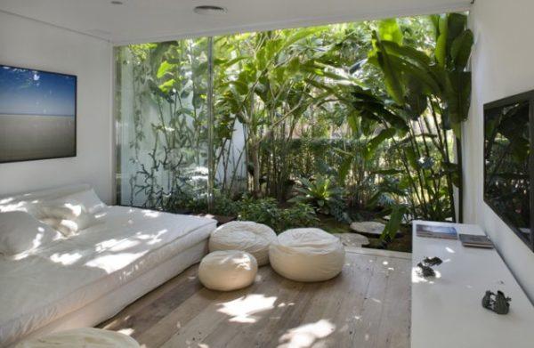 Gradina interioara in living