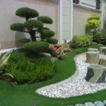 Gradina japoneza cu arbusti