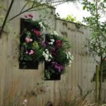 Gradina verticala cu flori