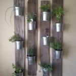 Gradina verticala cu plante aromatice