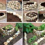 Gradini inaltate din pietre