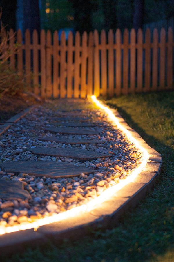 Iluminare alee gradina