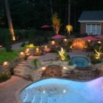 Iluminare gradina si piscina