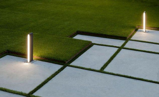 Iluminat modern gradina