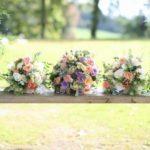 Leagan decorat cu flori
