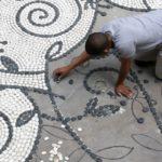 Mozaic superb pentru alei