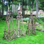 Obeliscuri de lemn