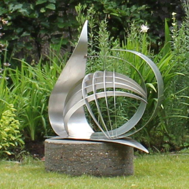 Obiect decorativ din metal pentru gradina