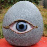 Obiect decorativ in forma de ochi
