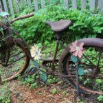 Ornament din bicicleta veche