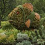 Peste din arbusti