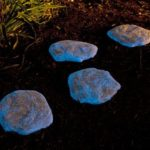 Pietre fosforescente albastre