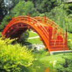 Pod mare din lemn pentru gradina