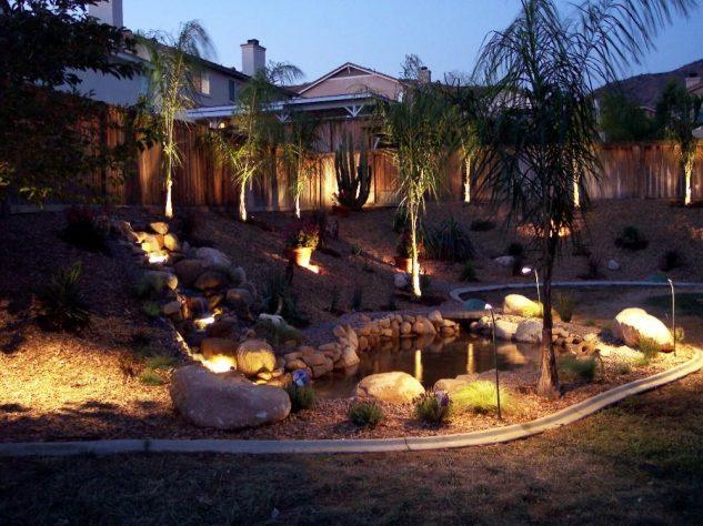 Sistem iluminate gradina