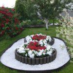 Strat de flori inaltat