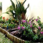 Strat inaltat de flori si plante decorative