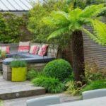Terasa cu plante exotice