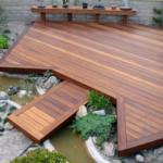 Terasa mare din lemn