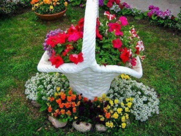 Vas de flori multicolore