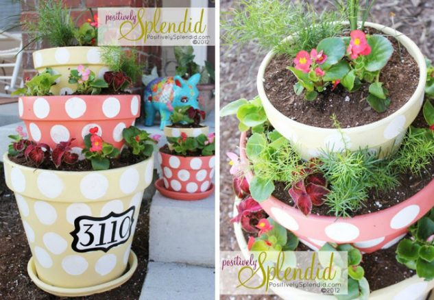 Vase cu flori si mesaje