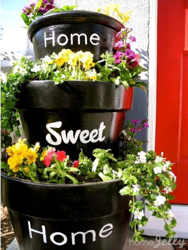 Vase de flori cu mesaje