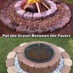 Amenajare foc de tabara rotund
