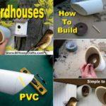 Casute pasarele din tevi PVC