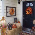 Decoratiune Halloween cu baloti de paie