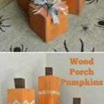 Decoratiune Halloween din lemn refolosit
