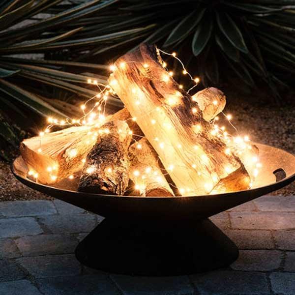 Foc de tabara decorativ